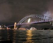 Sydney Harbour Bridge Rugby World Cup Lighting
