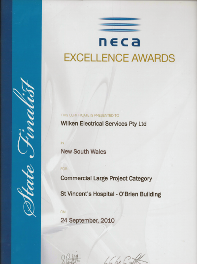 neca wilken awards